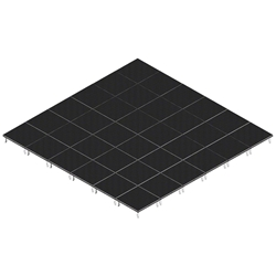 QuickLock Staging 24x24 Indoor/Outdoor Stage System 24x24, 24 x 24, portable stage platform, portable staging platform, stage deck, stage panel, quicklock, quicklock staging
