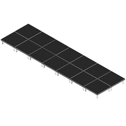 QuickLock Staging 8x28 Indoor/Outdoor Stage System 8x28, 28x8, portable stage platform, portable staging platform, stage deck, stage panel, quicklock, quicklock staging