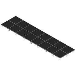 QuickLock Staging 8x32 Indoor/Outdoor Stage System 8x32, 32x8, portable stage platform, portable staging platform, stage deck, stage panel, quicklock, quicklock staging