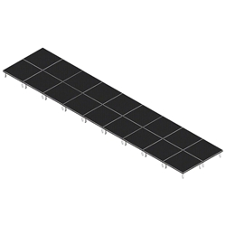 QuickLock Staging 8x36 Indoor/Outdoor Stage System 8x36, 36x8, portable stage platform, portable staging platform, stage deck, stage panel, quicklock, quicklock staging