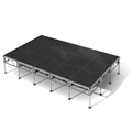 "All-Terrain 12'x20' Outdoor Stage System, 24""-48"" High, Industrial Finish"