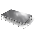 "All-Terrain 12'x20' Outdoor Stage System, 24""-48"" High, Weatherproof Aluminum"