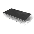"All-Terrain 12'x24' Outdoor Stage System, 24""-48"" High, Industrial Finish"