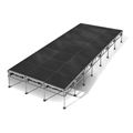 "All-Terrain 12'x28' Outdoor Stage System, 24""-48"" High, Industrial Finish"