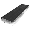 "All-Terrain 12'x40' Outdoor Stage System, 24""-48"" High, Industrial Finish"