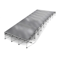 "All-Terrain 12'x40' Outdoor Stage System, 24""-48"" High, Weatherproof Aluminum"