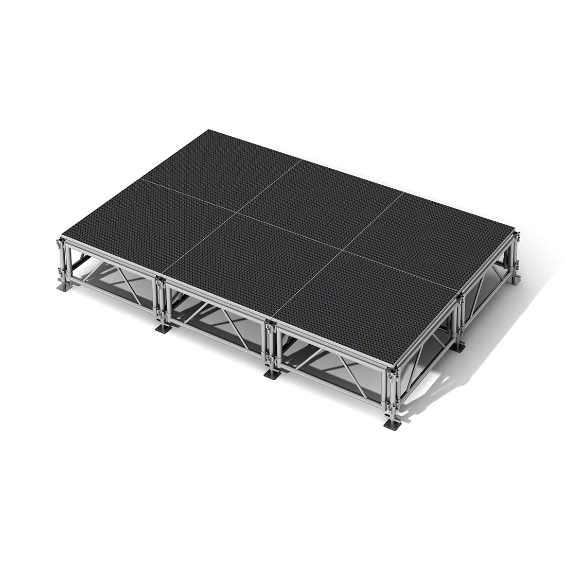 All Terrain 12 X8 Outdoor Stage System 24 Quot 48 Quot High