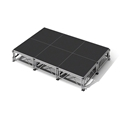 "All-Terrain 12'x8' Outdoor Stage System, 24""-48"" High, Industrial Finish"