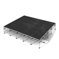 "All-Terrain 16'x20' Outdoor Stage System, 24""-48"" High, Industrial Finish"