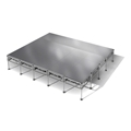 "All-Terrain 16'x20' Outdoor Stage System, 24""-48"" High, Weatherproof Aluminum"