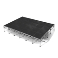 "All-Terrain 16'x24' Outdoor Stage System, 24""-48"" High, Industrial Finish"