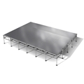 "All-Terrain 16'x24' Outdoor Stage System, 24""-48"" High, Weatherproof Aluminum"