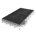 "All-Terrain 16'x28' Outdoor Stage System, 24""-48"" High, Industrial Finish"