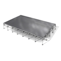 "All-Terrain 16'x28' Outdoor Stage System, 24""-48"" High, Weatherproof Aluminum"
