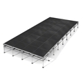 "All-Terrain 16'x32' Outdoor Stage System, 24""-48"" High, Industrial Finish"