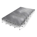 "All-Terrain 16'x32' Outdoor Stage System, 24""-48"" High, Weatherproof Aluminum"