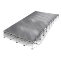 "All-Terrain 16'x36' Outdoor Stage System, 24""-48"" High, Weatherproof Aluminum"