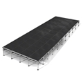 "All-Terrain 16'x40' Outdoor Stage System, 24""-48"" High, Industrial Finish"