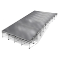 "All-Terrain 16'x40' Outdoor Stage System, 24""-48"" High, Weatherproof Aluminum"