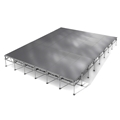 "All-Terrain 24'x32' Outdoor Stage System, 24""-48"" High, Weatherproof Aluminum"