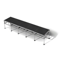 "All-Terrain 4'x20' Outdoor Stage System, 24""-48"" High, Industrial Finish"