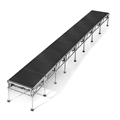 "All-Terrain 4'x32' Outdoor Stage System, 24""-48"" High, Industrial Finish"