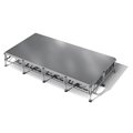 "All-Terrain 8'x16' Outdoor Stage System, 24""-48"" High, Weatherproof Aluminum"