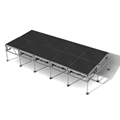 "All-Terrain 8'x20' Outdoor Stage System, 24""-48"" High, Industrial Finish"