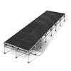 "All-Terrain 8'x28' Outdoor Stage System, 24""-48"" High, Industrial Finish"