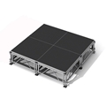 "All-Terrain 8'x8' Outdoor Stage System, 24""-48"" High, Industrial Finish"