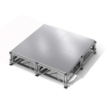 "All-Terrain 8'x8' Outdoor Stage System, 24""-48"" High, Weatherproof Aluminum"