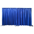 Ameristage FlexDrape 12'-20' Adjustable Back Drop/Curtain Wall Kit