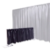Ameristage FlexDrape 6'-10' Adjustable Back Drop Half-Wall Kit