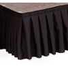 "Ameristage 12' Box-Pleat Stage Skirt for 16"" High Staging 101 Systems (12'x16"")"
