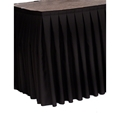 "Ameristage 12' Box-Pleat Stage Skirt for 32"" High Staging 101 Systems (12'x32"")"