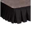 "Ameristage 8' Box-Pleat Stage Skirt For 8"" High Staging 101 Systems (8'x8"")"