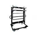 Biljax AS2100 Stage Guard Rail Storage Cart