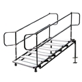 "Biljax 6-Step Ultra-Stair for 24"" to 42"" High Stage"