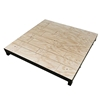 Biljax ST8100 4'x4' Square Steel Frame Stage Deck Platform, Unstained Faux Hardwood Plywood