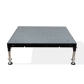 Biljax ST8100 4'x4' Portable Stage Unit, Gray Carpet