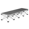 "IntelliStage Lightweight 4' Wide Step Kit for 16"" High Stages"