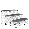 "IntelliStage Lightweight 4' Wide Step Kit for 32"" High Stages"