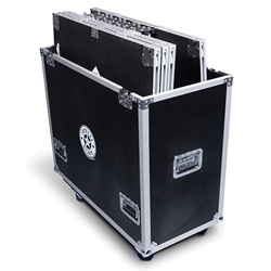 IntelliStage 3 Flight Case (Fits 6 3 platforms, 6 risers) stage storage, stage case, road case, stage trolley, rolling cart, 3x3