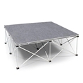 IntelliStage Lightweight 4'x4' Portable Stage Unit