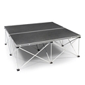 Intellistage Lightweight 3'x3' Folding Portable Stage Unit
