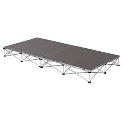 IntelliStage Lightweight 4x8 Portable Stage System portable staging, 4x8, 4 x 8, 8 x 4, 8x4, lightweight, stage, modular, 4x4