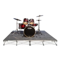IntelliStage Lightweight 8'x8' Drum Riser System, Carpet