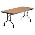 "Midwest Folding 630EF 30""x72"" Folding Table, Laminate"