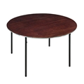 "Midwest Folding R36E 36"" Round Folding Table, Plywood"