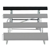 "Midwest Folding Add-On 4th Tier for TransFold 3-Tier Standing Choral Riser, 72"" Wide"